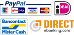 You can pay your Beaver hairline optimizer with PayPal, Mister Cash or Direct E-Banking